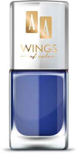 AA WINGS OF COLOR Oil Therapy Nail Lacquer 20 Blueberry Chic 11ml