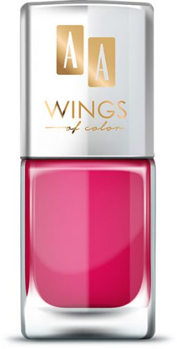 AA WINGS OF COLOR Oil Therapy Nail Lacquer 5 Exotic Lilac 11ml