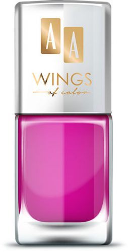 AA WINGS OF COLOR Oil Therapy Nail Lacquer 6 Funky Fuchsia 11ml