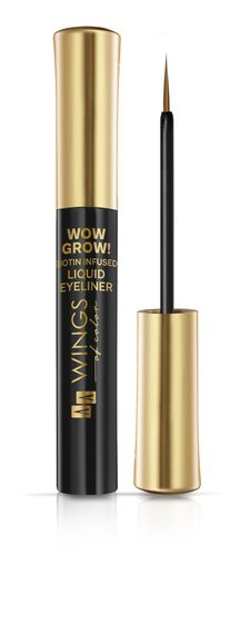 AA WINGS OF COLOR Eyeliner W Płynie Wow Grow! 02 Brown In Town 6ml