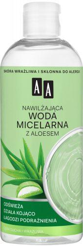 AA Skin Food Nawilżająca woda micelarna z aloesem