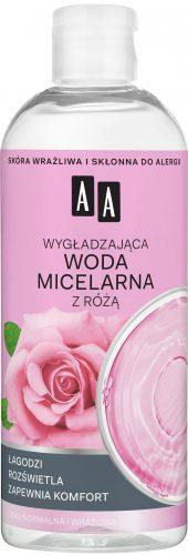 AA Skin Food Wygładzająca woda micelarna z różą