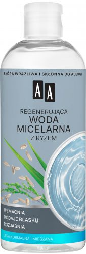 AA Skin Food Regenerująca woda micelarna z ryżem