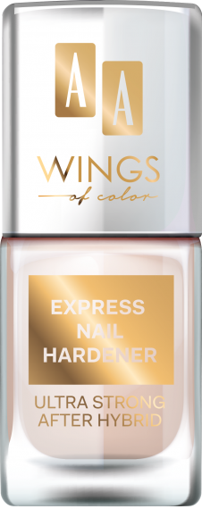 AA WINGS OF COLOR EXPRESS NAIL HARDENER, EKSPRESOWY UTWARDZACZ DO PAZNOKCI 11ML