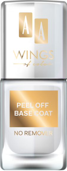 AA WINGS OF COLOR PEEL OF BASE COAT, BAZA POD LAKIER DO PAZNOKCI 11ML