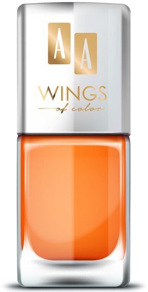 AA WINGS OF COLOR OIL THERAPY NAIL LACQUER 22 FRESH PAPAYA 11ML