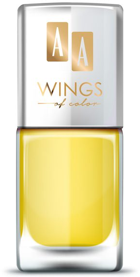 AA WINGS OF COLOR OIL THERAPY NAIL LACQUER 23 VIVID VANILLA 11ML