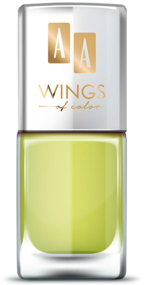 AA WINGS OF COLOR OIL THERAPY NAIL LACQUER 24 SPICY KALE 11ML