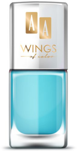 AA WINGS OF COLOR OIL THERAPY NAIL LACQUER 25 BLUE MAGIC 11ML