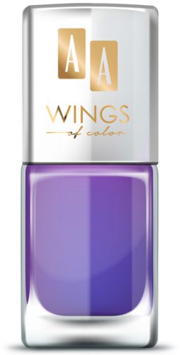 AA WINGS OF COLOR OIL THERAPY NAIL LACQUER 27 ULTRA VIOLET MIX 11ML
