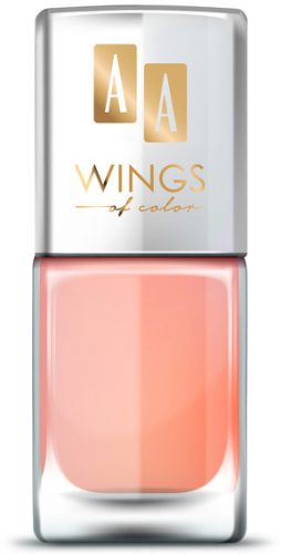 AA WINGS OF COLOR OIL THERAPY NAIL LACQUER 29 CREAM PEACH 11ML