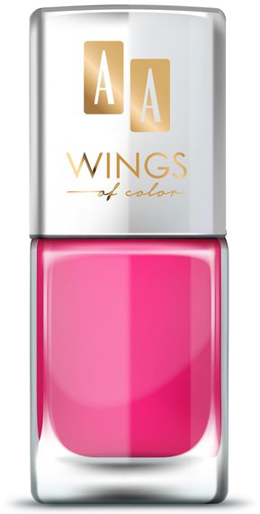 AA WINGS OF COLOR OIL THERAPY NAIL LACQUER 30 TASTY STRAWBERRY 11ML