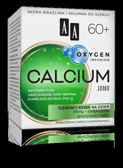 AA OXYGEN INFUSION 60+ calcium jono, tlenowy krem na dzień