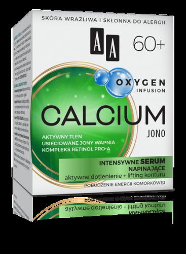 AA OXYGEN INFUSION 60+ calcium jono, intensywne serum napinające