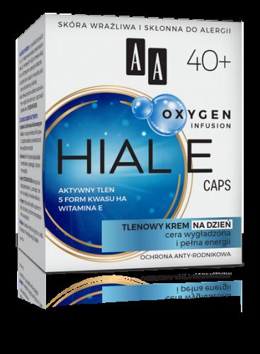 AA OXYGEN INFUSION 40+ hial e caps, tlenowy krem na dzień