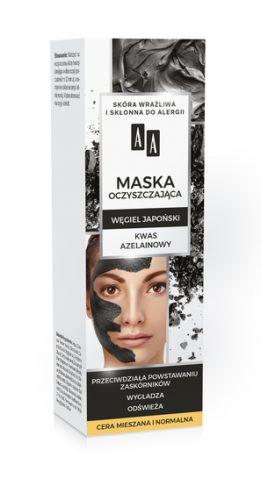 AA CARBON&CLAY Maska węglowa oczyszczająca