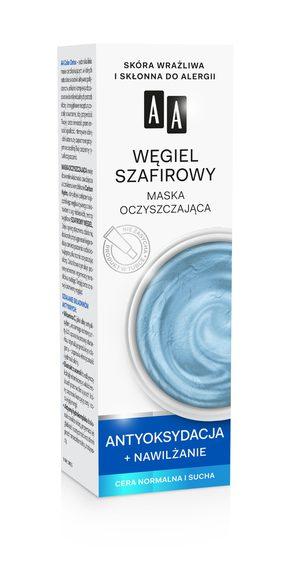 AA COLOR DETOX Węgiel szafirowy maska oczyszczajaca