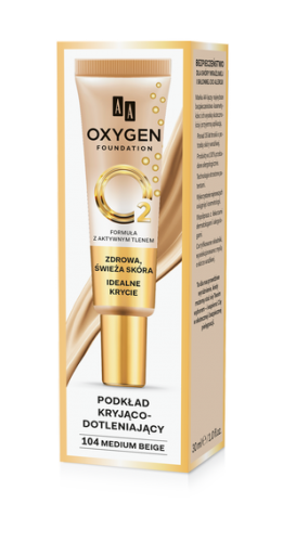 MUP OXYGEN 104 MEDIUM BEIGE 30 ML
