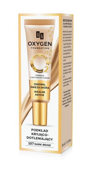 MUP OXYGEN 107 DARK BEIGE 30 ML