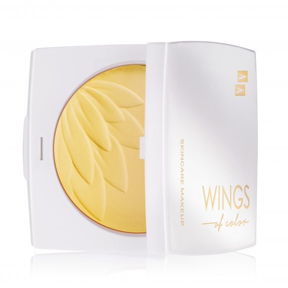 AA WINGS OF COLOR SILKY SMOOTH COMPACT POWDER ANTIREDNESS PUDER MASKUJĄCY ZACZERWIENIENIA 95 8,5G