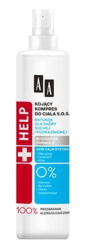 AA Help Kojący Lotion Kompres S.O.S do ciała 250 ml