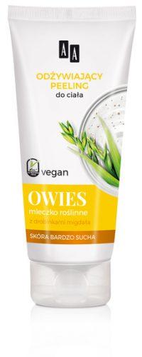 AA Vegan Odżywiający peeling do ciała OWIES 200 ml