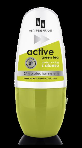 Anti-Perspirant Multifunctional 8 in 1 Green Tea 24 h
