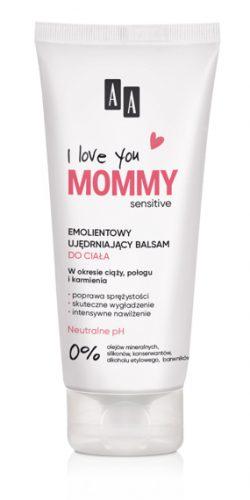 AA ILove you Mommy Emolientowy Ujędrniajacy balsam dociała 200 ml
