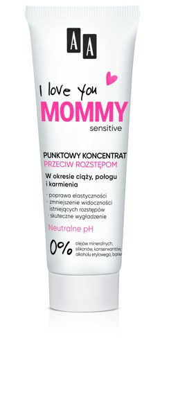 AA I Love you Mommy Koncentrat redukujący rozstępy 40 ml