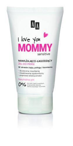 AA I Love you Mommy Nawilżająco-łagodzący żel do piersi 125 ml
