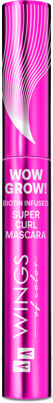 AA WINGS OF COLOR TUSZ WOW GROW! CURLY BLACK 10ML