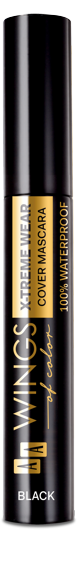 AA WOC WATERPROOF TUBE MASCARA 01 BLACK