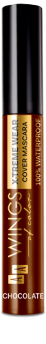 AA WOC WATERPROOF TUBE MASCARA 02 CHOCOLATE