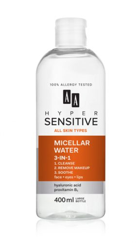 AA HYPERSENSITIVE SKIN 3IN1 MICELLAR WATER 400 ML