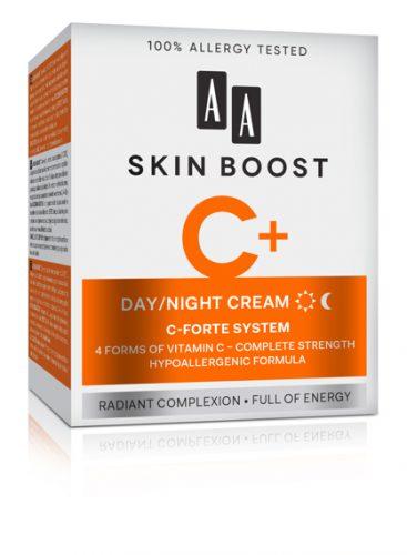 AA SKIN BOOST C+ Day/Night cream, 50 ml