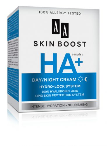 AA SKIN BOOST HA+ Day/night cream, 50 ml