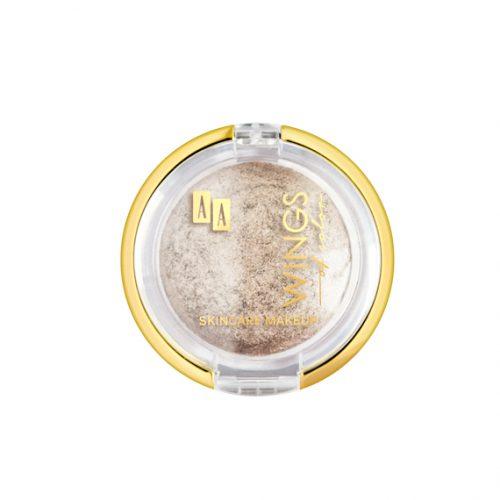 AA WINGS OF COLORMINERAL BAKED EYESHADOW WYPIEKANY, MINERALNY CIEŃ DO POWIEK 101 DIAMOND STARDUST  2G