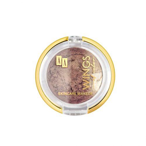 AA WINGS OF COLOR MINERAL BAKED EYESHADOW WYPIEKANY, MINERALNY CIEŃ DO POWIEK 103 GOLDEN BRONZE GODDESS 2G