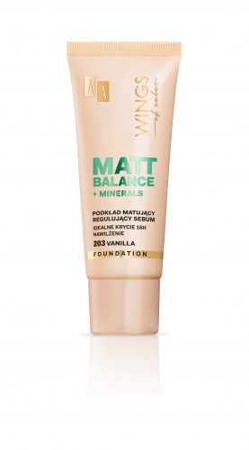 AA WINGS OF COLOR PODKŁAD MATT BALANCE 203 30ML