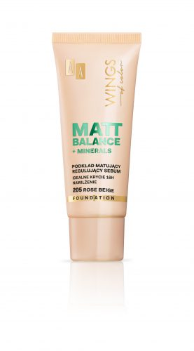 AA WINGS OF COLOR PODKŁAD MATT BALANCE 205 30ML