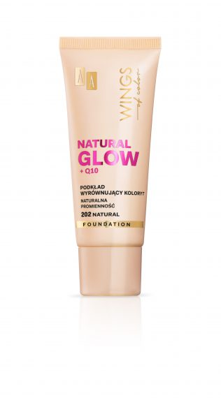 AA WINGS OF COLOR PODKŁAD NATURAL GLOW 202 30ML