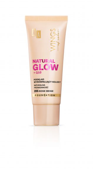 AA WINGS OF COLOR PODKŁAD NATURAL GLOW 205 30ML