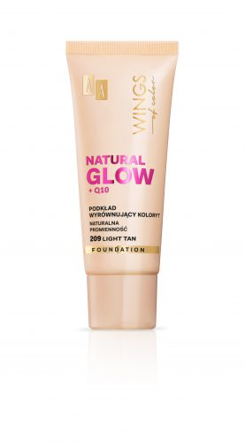 AA WINGS OF COLOR PODKŁAD NATURAL GLOW 209 30ML