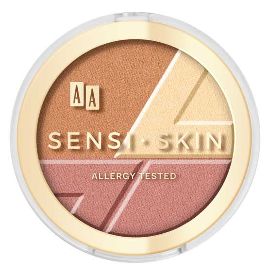 AA Sensi Skin 3w1 set modelujący do twarzy