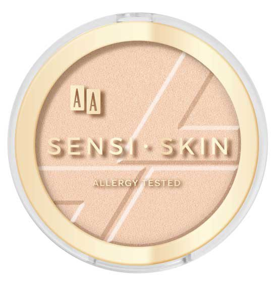 AA Sensi Skin matujący puder prasowany 02 nude