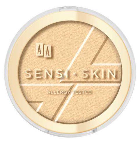 AA Sensi Skin modelujący rozświetlacz do twarzy 01 golden dust