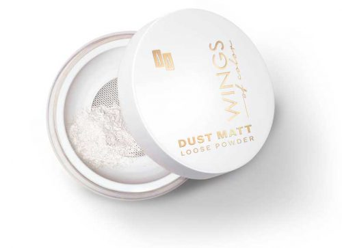 AA WINGS OF COLOR Dust matt loose powder 30 make up fixer, 8g