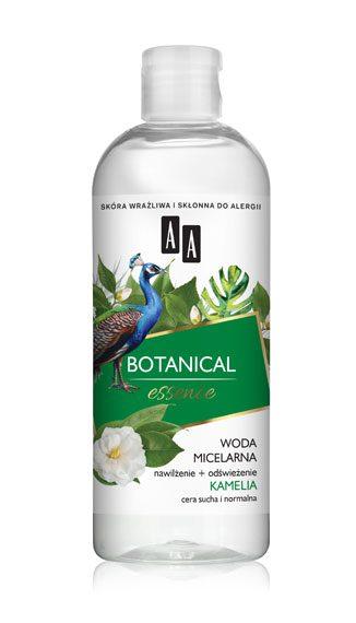 AA BOTANICAL ESSENCE Woda micelarna nawilżenie+odświeżenie, kamelia, cera sucha i normalna