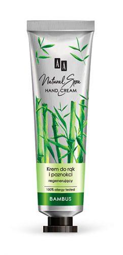 AA NATURAL SPA Krem regenerujący do rąk i paznokci z bambusem 50 ml