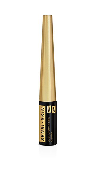 AA SENSI SKIN JUST DRAW A LINE EYELINER 1 BLACK 3ML